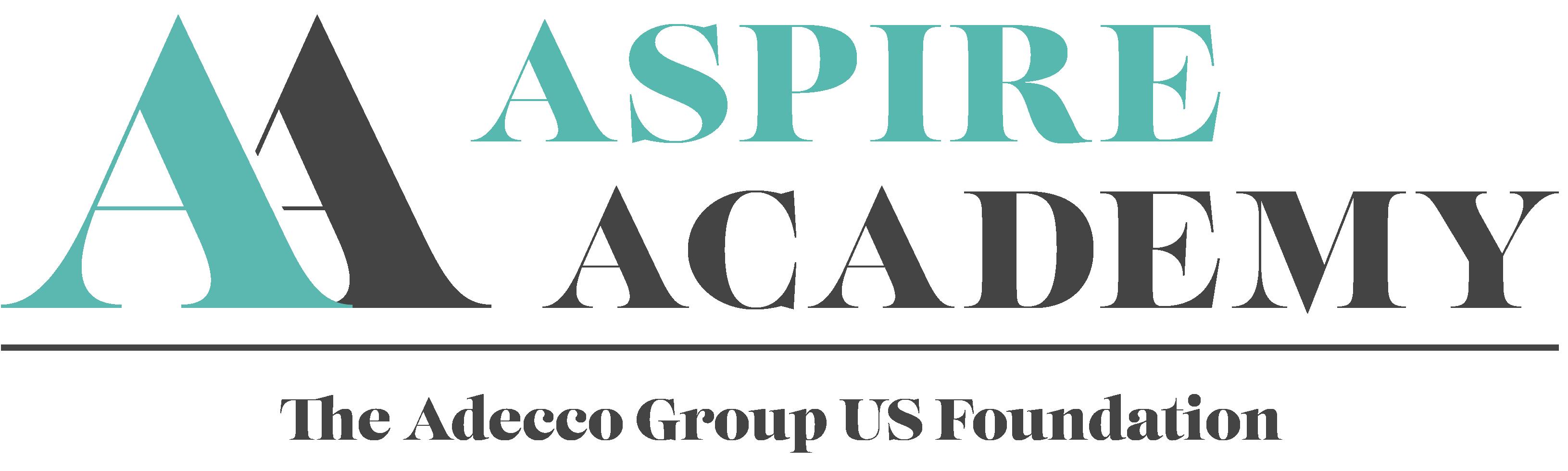 Aspire Logo with Foundation Line